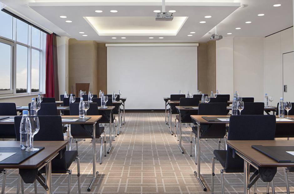 Arrange a business meeting or training seminar in our modern conference hall, equipped with all facilities.