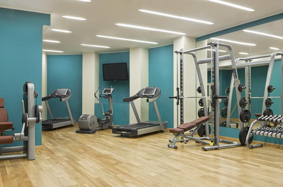 Increase your physical shape in the fitness center, equipped with modern technology, with LCD-screens and Internet access.